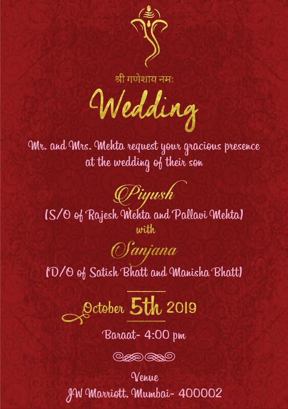 30 Designer Royal Hindu Wedding Invitation Cards With